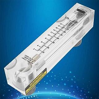 LZM-25 Vloeibare Stroommeter Knop Paneel Type Acryl Plexiglas Flow Meter Meting Grote Debiet Meerdere Meetbereiken