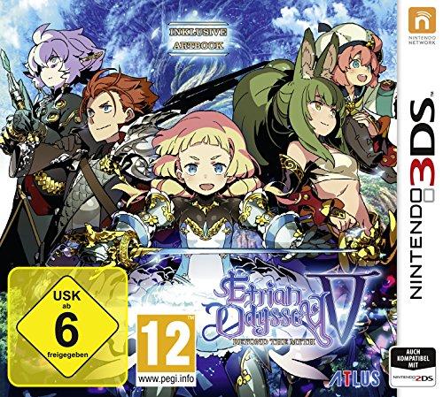 Etrian Odyssey V Beyond the Myth - Nintendo 3DS [Edizione: Germania]