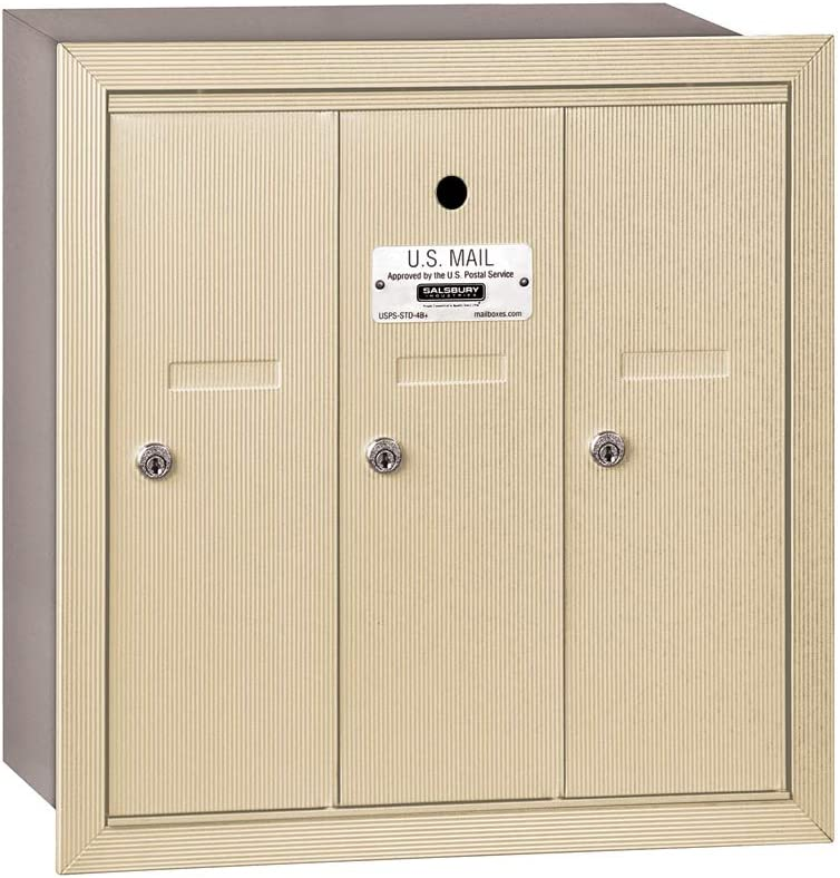 Salsbury Industries 3503SRU Recessed New product fo Mounted Vertical Mailbox Beauty products