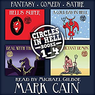 Circles in Hell, Books 1-4 cover art