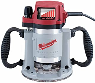 Milwaukee 5625-20 15 Amp 3-1/2-Horsepower Fixed Base Variable Speed Router with T-Handle..