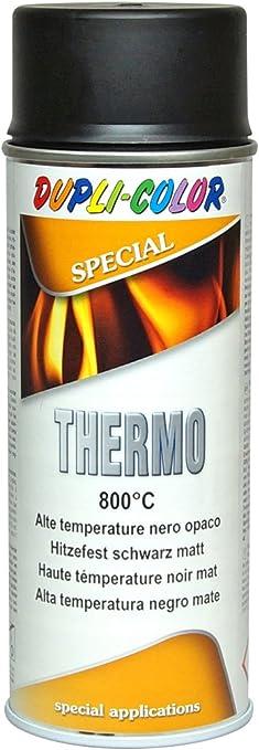 Dupli Color 401052 Thermal Paint Spray 800 Degrees Celsius 400 Ml Matte Black Baumarkt