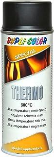 Dupli Color 401052 Thermo - Pintura spray 800 °C 400 ml negro mate