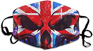 Thuth American Skull Dust-Proof Washable Mask - Reusable Mask - Suitable for Men and Women's Masks