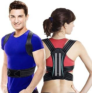VOKKA Posture Corrector for Men and Women, Spine and Back Support, Providing Pain Relief for Neck, Back, Shoulders, Adjust...