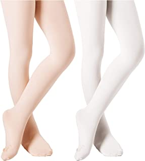 Ballet Tights for Girls Dance Leotards Ultra Soft Footed Tight