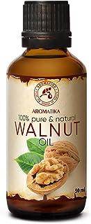 Aceite de Nuez 50ml - Juglans Regia Seed Oil - USA - 100% Puro y Natural - Aceite Base - Cuidado Intensivo - Aceite de Nue...