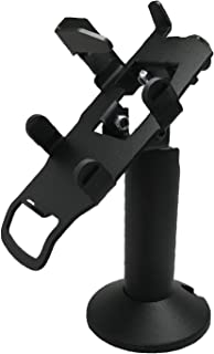 Swivel and Tilt Verifone Vx805 Terminal Stand, Screw-in and Adhesive with Key Locking Mechanism