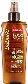 Babaria Aceite Solar Seco Coco SPF20 Pistola - 200 ml