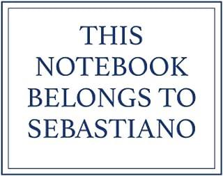 This Notebook Belongs to Sebastiano