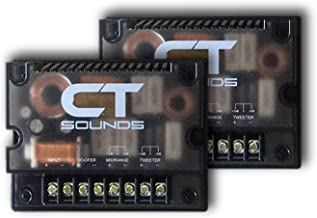 CT Sounds Universal Car Audio Passive 3 Way Crossover Set for Component Speakers