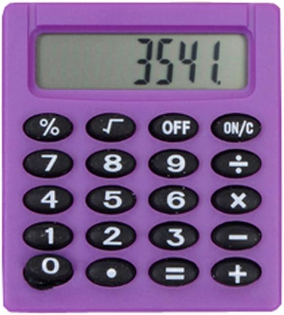 Cute Mini A Max 66% OFF surprise price is realized Calculator Exam Purple Pocket