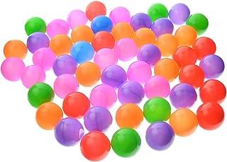toyofmine Ocean Ball Baby Kid Pit Toy Game Swim Pool Soft Plastic Ball (600 pcs)