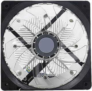 Lanbowo CPU Ventilador Del Radiador LED 12CM Silencioso Escritorio Ordenador Ventilador de Refrigeración