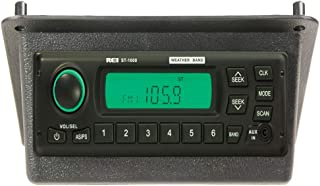New Aftermarket ST-1000 AM/FM/WB/AUX Stereo Radio & Bezel for John Deere 30 & 40 Series Tractors