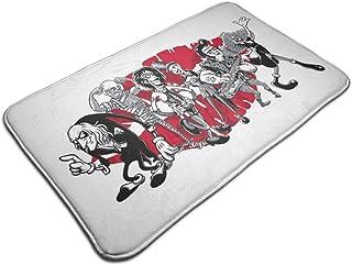 HUTTGIGH Rocky Horror Picture Show Gang of Six - Alfombrilla antideslizante para baño (48 x 81 cm)