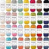 Kartopu - Filato di cotone per uncinetto, 32 x 50 g (1.600 g), 100% cotone, per lavoro a maglia e uncinetto, certificato Ökotex