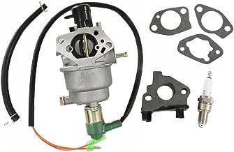HURI Carburetor with Gasket Spark Plug for Cummins Onan HomeSite Power 6500 Generator Engine