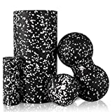 HBselect Foam Roller Kit Fitness 4 in 1 Rullo Massaggio Muscolare in...