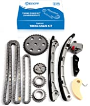 ECCPP Timing Chain Kit with Gears For 2006-2013 MAZDA Speed 3, 6,CX-7 2.3L MPS L3K9 TURBO