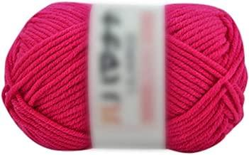 Kriser 1pc 25G Chunky Colorida de la Mano de Tejer Leche algodón Que Hace Punto del Ganchillo géneros de Punto de Lana, Estados Unidos, H