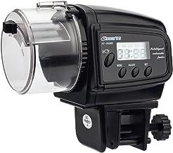 NICREW Alimentador Peces Automático, Dispensador de Comida Acuario, Alimentador Automático de Peces para Acuario con LCD Pantalla e Temporizador para Acuario Pescado