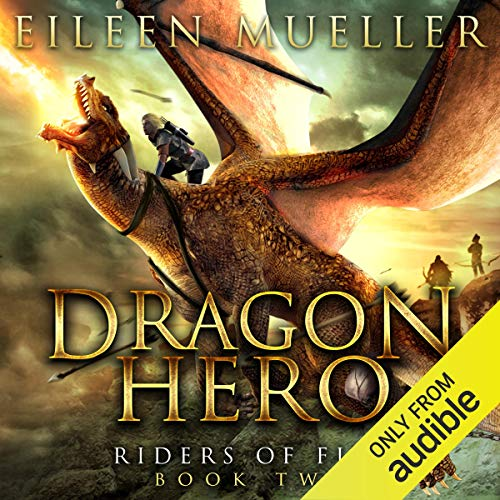 Dragon Hero audiobook cover art