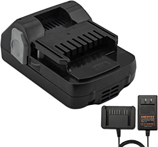 Shentec 3.0Ah 18V Battery Compatible with Hitachi 339782 BSL1830C BSL1815X BSL1815S BSL1830 330139 330557, Lithium-Ion Slide Style Battery (18V Battery Charger Include)