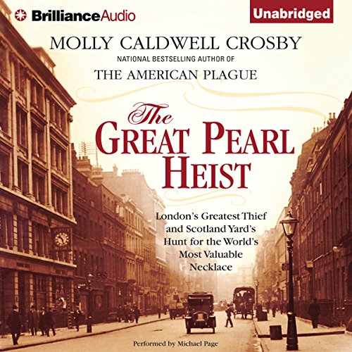 The Great Pearl Heist audiobook cover art