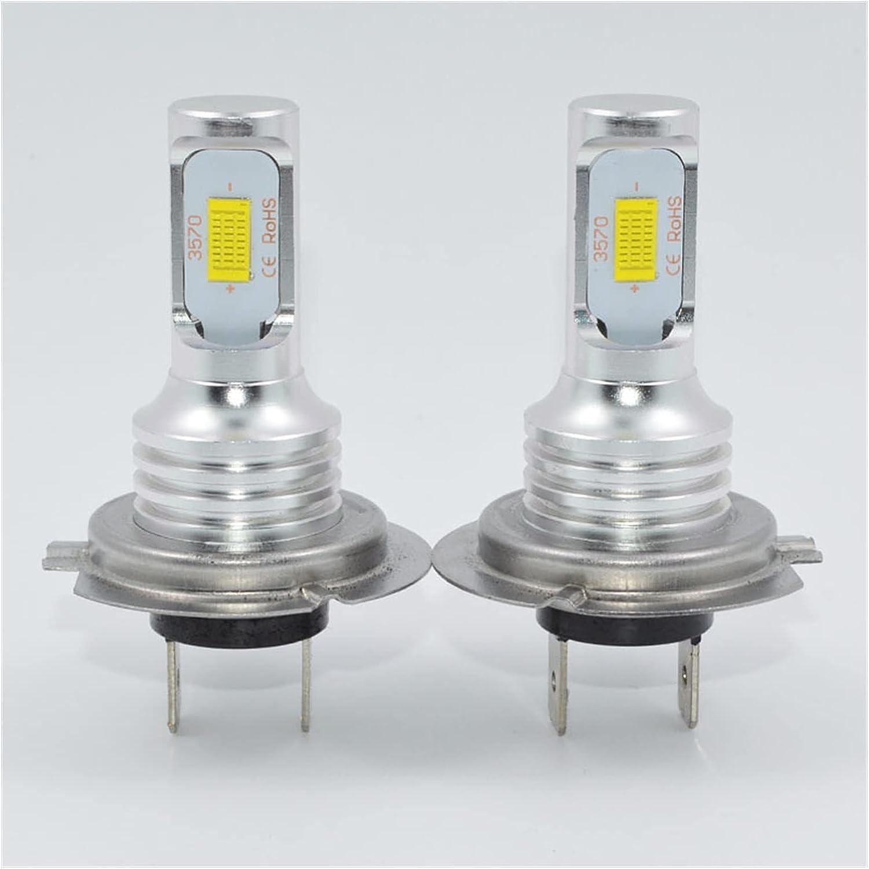 MEILIJIE XIAOXU MIN 72W H7 LED Luces de Coche 3000lm CANBUS LED Bombilla Blanco 6000K LED Coche Luz de Cabeza Lámpara de Coche 12V 24V H7 Faro de Coche Estilo (Socket Type : H7)