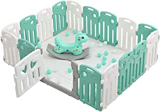 ZXRET Baby Fence  Children S Play Fence  Indoor Amusement Park Home Marine Ball Pool Baby Safety Crawling Mat Baby Toddler Fence