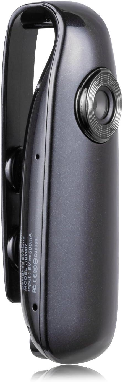 Lenofocus Mini Body Camera 1080P Full HD Hidden Spy Cameras Portable Pocket Clip Wearable Camera Video Recorder Small Sport DV DVR Dash Camera for Car Bike Home Office Security