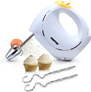 Geepas - GHM43012 - Hand Mixer/ 7 Speed With Turbo/150W