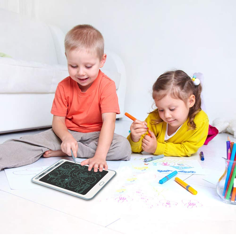 School,Office LCD Writing Tablet Richgv 8.5 Inches Electronic Writing /& Drawing Doodle Board with Memory Lock for Home