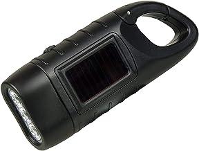 Draagbare zaklamp op zonne-energie, handslinger, dynamo, noodgevallen, led-zaklamp, lantaarn voor camping, outdoor, tent, ...