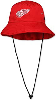Detroit Red Wings Training Bucket Hat, Red, Adjustable