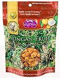 Dragon Herbs Longan Fruit - 6 oz - 170 grams - 100% All Natural, Non-GMO, Premium Grade, No artificial colors