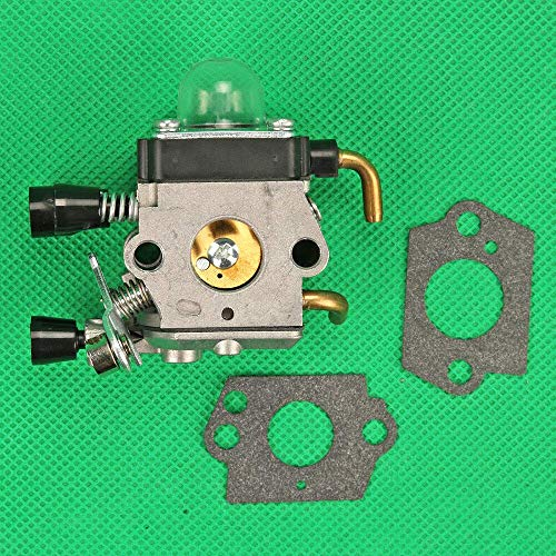 Henseek Vergaserteile Ersatzteile für Huq Vergaser für Stihl Trimmer FS38 Fs45 Fs46 Fs55 Fs55R Fs55Rc Km55 W/Dichtungskomponenten