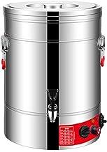 Roestvrijstalen heetwaterdispenser likeur, Elektrische koffie-thee-melkverwarmer met alarmfunctie voor watertekort, Waterd...