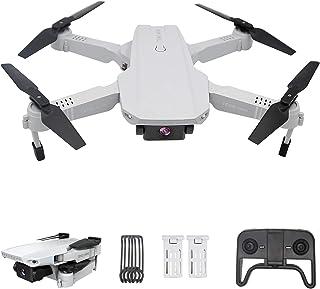 3T6B Mini RC Drone con cámara 4K, Drone para Principiantes, Dual Cámara, Posicionamiento de Flujo óptico, Fotografía de Gestos con Las Manos, Flips 3D, Modo MV, 2 Baterías, Vuelo de 24 Minutos