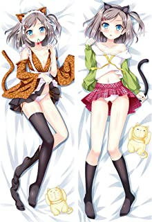 erttfly Tsukiko Tsutsukakushi - The Hentai Prince and The Stony Cat 2 Way Tricot Pillowcases 150 x 50cm(59in x 19.6in)