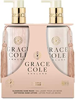 Grace Cole Ginger Lily & Mandarin Hand Care Set 2 x 300ml