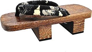CHNHIRA Chaussons Homme Pantoufle Femmes Mixte Adulte Sandales Sabots Japonais Wooden Geta
