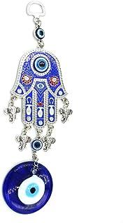 Best MUYE Blue Evil Eye Hanging Decoration Amulet Wall Hanging Home Decor Car Pendant (RHRUAN) Review