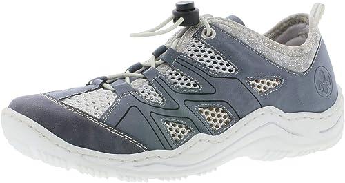 Rieker L0534 Femme Femme Chaussures à Enfiler,Slip-on,Occasionnel,Loisir  acheter pas cher