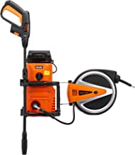 Giraffe Tools Pressure Washer & Retractable Hose Reel, 2in1 Wall Mounted Electric Power Washer 10 AMP Jet Washer with Dete...