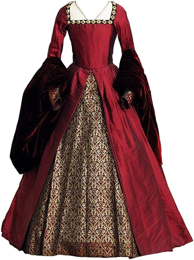 Victorian Tudor Period Gothic Max 43% OFF Ball Anne dress costume cosplay OFFicial mail order Bo
