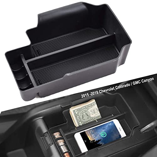 EDBETOS Center Console Organizer Tray for Chevy Colorado GMC Canyon 2015 2016 2017 2018 2019 SLT