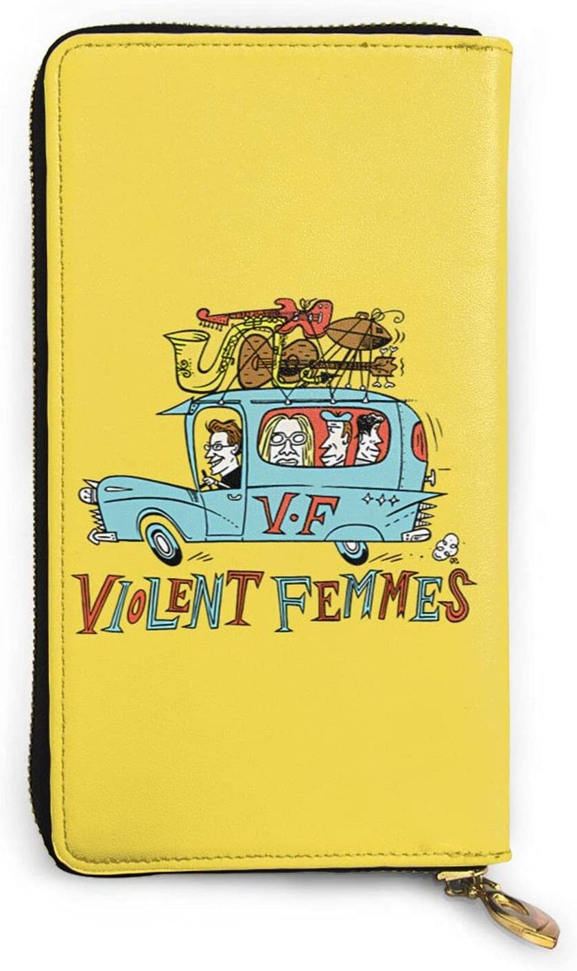 Violent sale Femmes Leather Wallet Credit Card For Limited time cheap sale Bag M Holder Phone