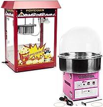 Royal Catering Kit Machine À Popcorn Et Machine À Barbe À Papa RCPR-16E-SET (1 600 W + 1200 W, Popcorn 5 – 6 kg/h, 12-18 ...